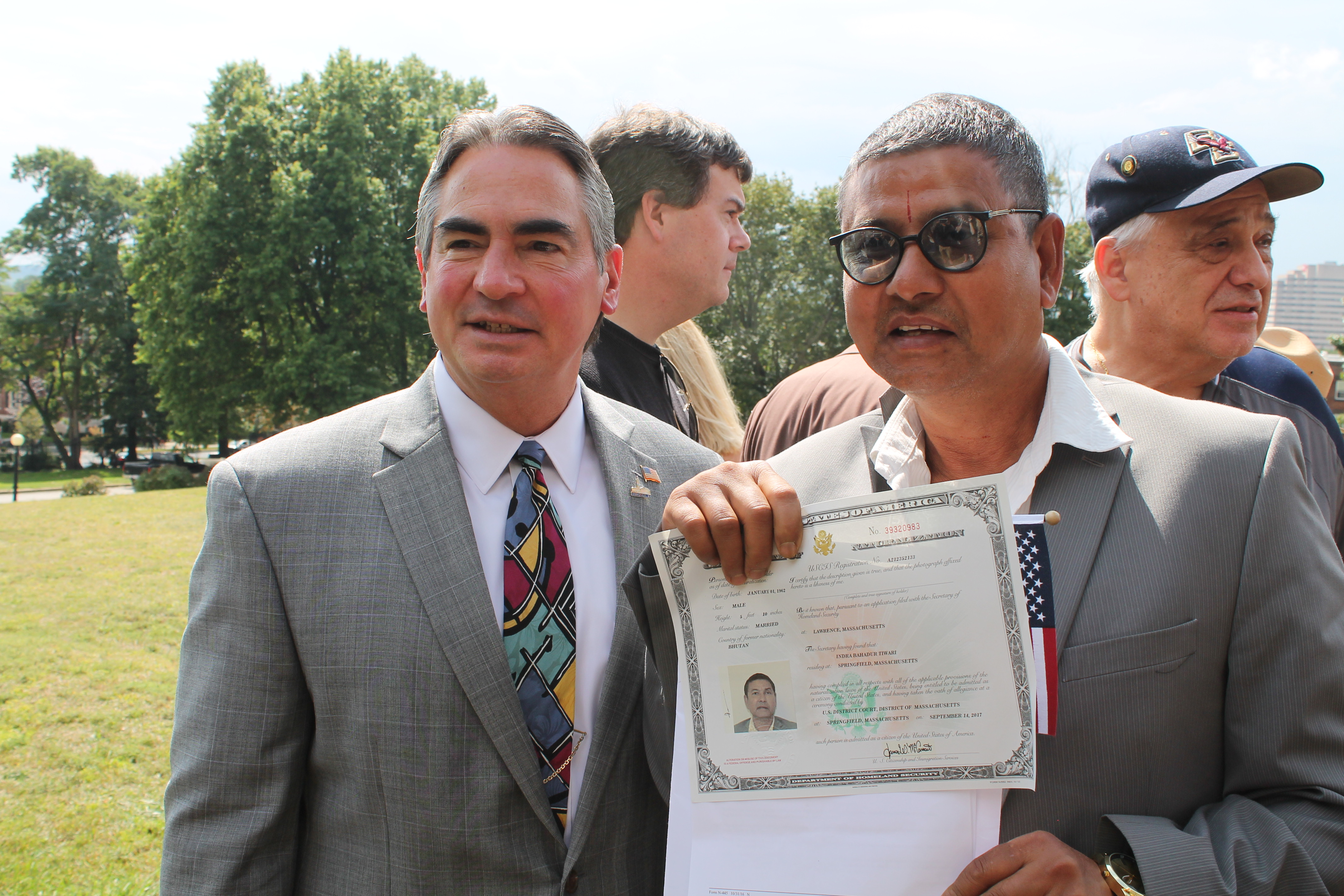 Mayor Sarno Speaks At Yesterday S Naturalization Ceremony