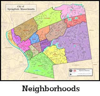 Springfield Ma Map GIS Maps Springfield Ma Map